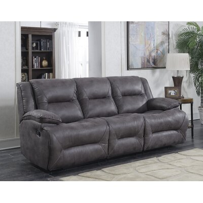 Finlay Double Motion Reclining Sofa Type: Manual
