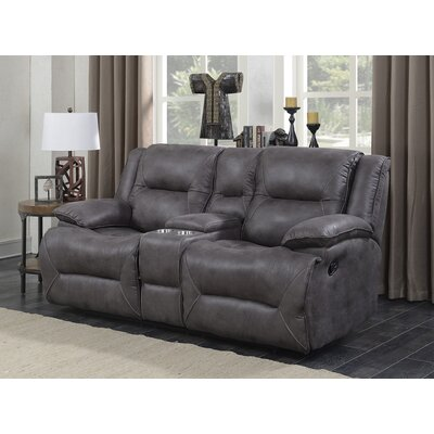Finlay Double Motion Reclining Loveseat Type: Manual