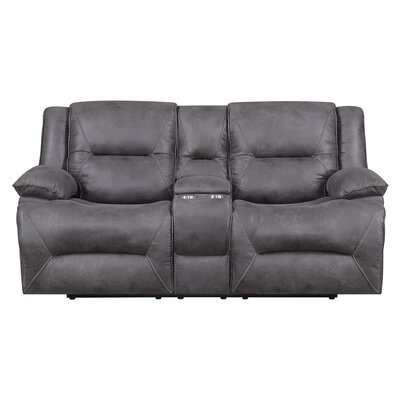 Creech Double Motion Reclining Loveseat Type: Manual