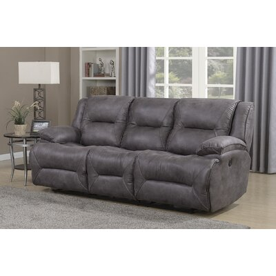 Finlay Double Motion Reclining Sofa Type: Power