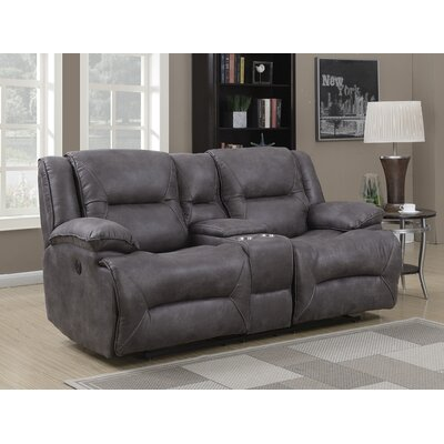 Finlay Double Motion Reclining Loveseat Type: Power