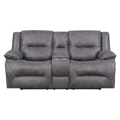 Creech Double Motion Reclining Loveseat Type: Power