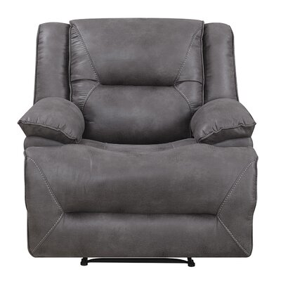 Risch Recline Recliner Motion Type: Rocker, Reclining Type: Manual Recline