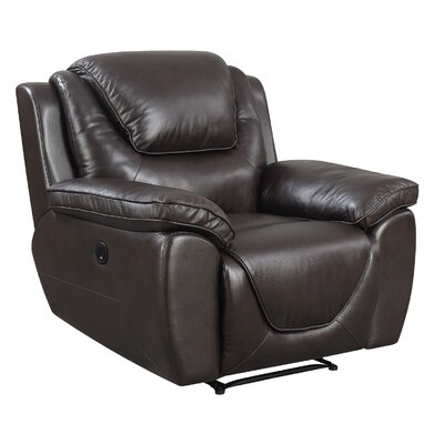 Rish Leather Recline Recliner Reclining Type: Manual Recline