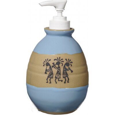 Trio Kokopelli Soap Dispenser