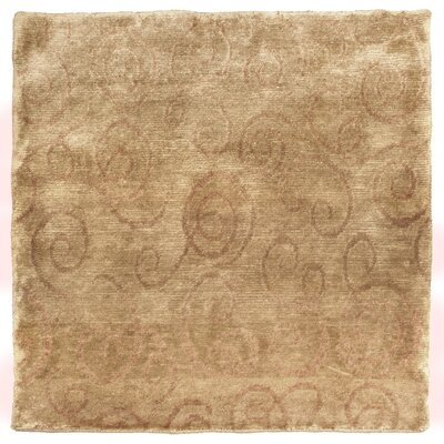 Metropolitan Hand Knotted Wool Wheat Area Rug Rug Size: Rectangle 4 x 6
