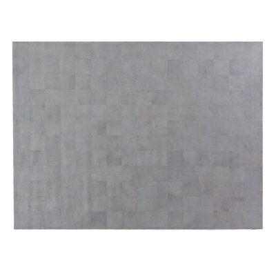 HandWoven Silver/Ivory Area Rug Rug Size: Rectangle 136 x 176