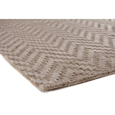 Demani Hand Woven Wool Brown Area Rug Rug Size: Rectangle 8 x 10
