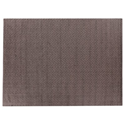 Demani Hand-Woven Wool Brown Area Rug Rug Size: Rectangle 8 x 10