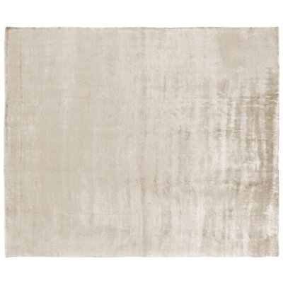 Purity Hand-Woven Ivory Area Rug Rug Size: Rectangle 14 x 18