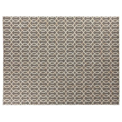 Berlin Beige/Ivory Area Rug Rug Size: Rectangle 12 x 15