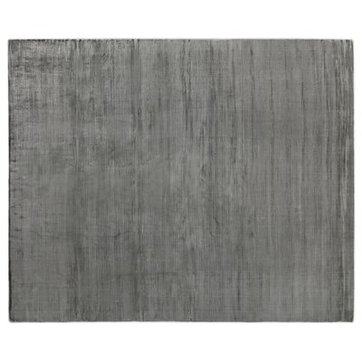 Smooch Carved Hand-Woven Gray Area Rug Rug Size: Rectangle 12 x 15