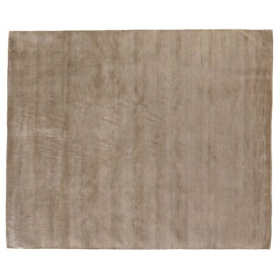Dove Hand Woven Wool Natural Fawn Area Rug Rug Size: Rectangle 10 x 14