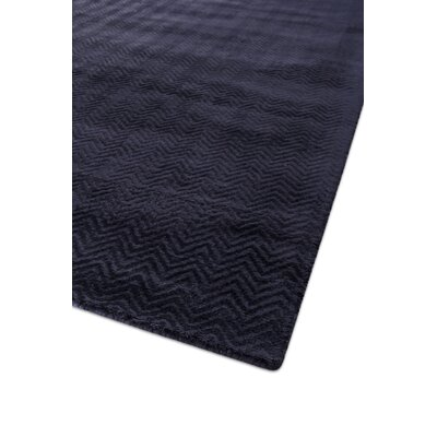 Pavo Hand-Woven Navy Area Rug Rug Size: Rectangle 10 x 14