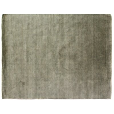 Dove Hand-Woven Wool Green/Brown Area Rug