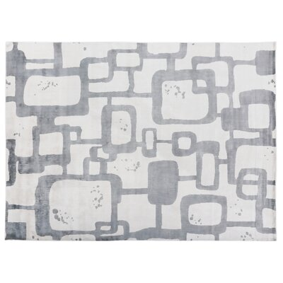 Koda Hand-Woven Black Area Rug Rug Size: Rectangle 8 x 10