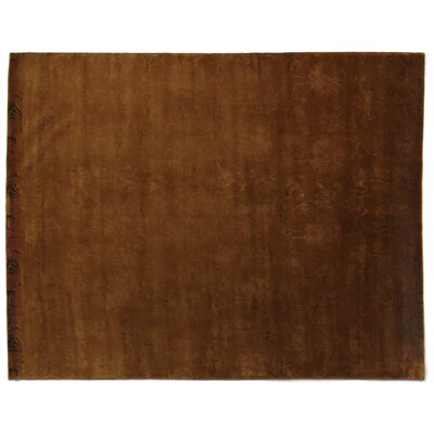 Super Tibetan Hand-Knotted Terracotta Area Rug Rug Size: Rectangle 8 x 10