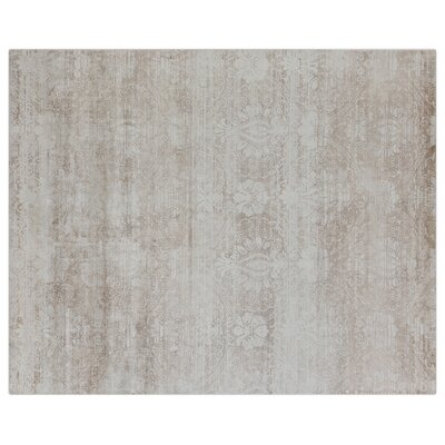 Koda Hand-Woven Gray Area Rug Rug Size: Rectangle 10 x 14