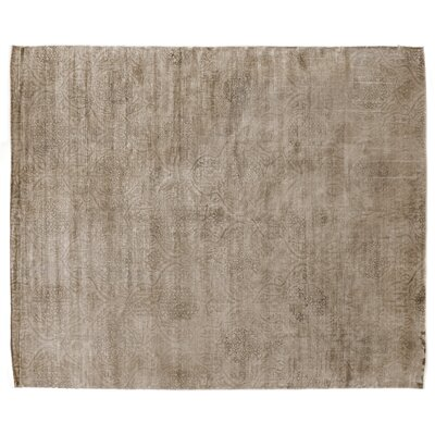 Koda Hand-Woven Beige Area Rug Rug Size: Rectangle 9 x 12