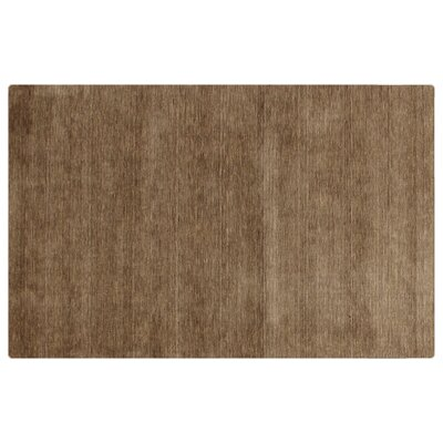 Dove Hand Woven Wool Light Brown Area Rug Rug Size: Rectangle 12 x 15