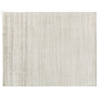 Sanctuary Hand Woven Silk Beige Area Rug Rug Size: Rectangle 10 x 14
