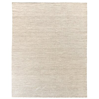 Hand-Woven Wool Natural Area Rug Rug Size: Rectangle 8 x 10