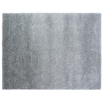 Sumo Handmade Shag Wool Light Blue Area Rug