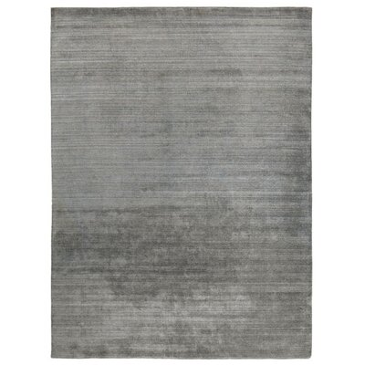 Sanctuary Hand-Woven Silk Gray Area Rug