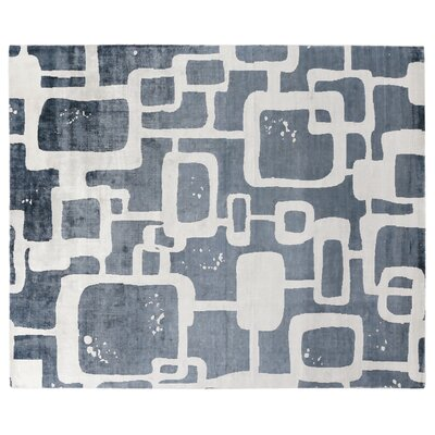 Koda Silk Denim Area Rug Rug Size: Rectangle 8 x 10