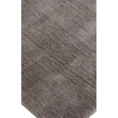 Gem Wool/Silk Chocolate Area Rug Rug Size: Rectangle 14 x 18