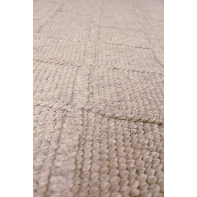 Brentwood Hand-Woven Wool Beige Area Rug Rug Size: Rectangle�10 x 14
