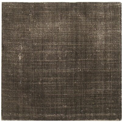 Smooch Carved Hand-Woven Brown Area Rug Rug Size: Rectangle 14 x 18