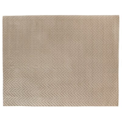 Demani Hand Woven Wool Brown Area Rug Rug Size: Rectangle 6 x 9
