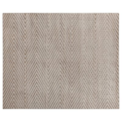 Kingsley Hand-Woven Ivory Area Rug Rug Size: Rectangle 12 x 15