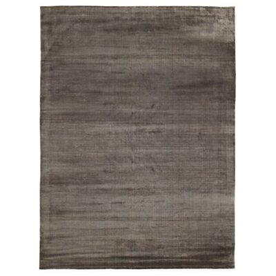 Smooch Carved Hand-Woven Slate Area Rug Rug Size: Rectangle 6 x 9