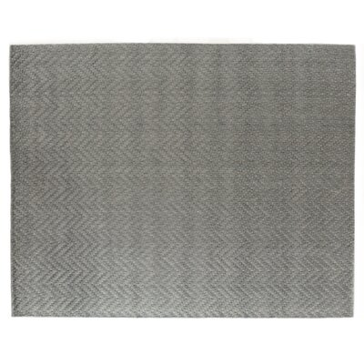 Demani Hand Woven Wool Gray Area Rug Rug Size: Rectangle 6 x 9