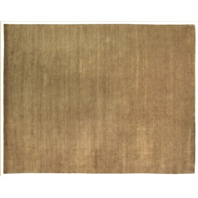 Dove Hand Woven Wool Beige Area Rug Rug Size: Rectangle 9 x 12