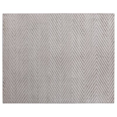 Kingsley Hand-Woven Gray Area Rug Rug Size: Rectangle 8 x 10