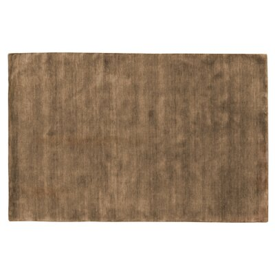 Dove Hand Woven Wool Taupe Area Rug Rug Size: Rectangle 10 x 14