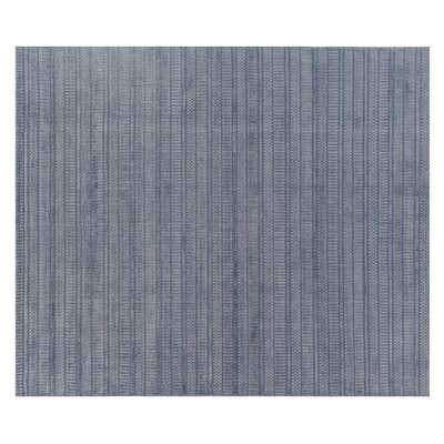 Addison Hand Woven Silk Blue Area Rug