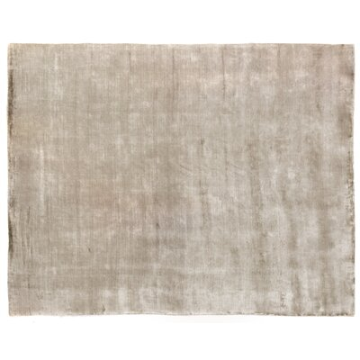 Purity Hand-Woven Beige Area Rug Rug Size: Rectangle 6' x 9'