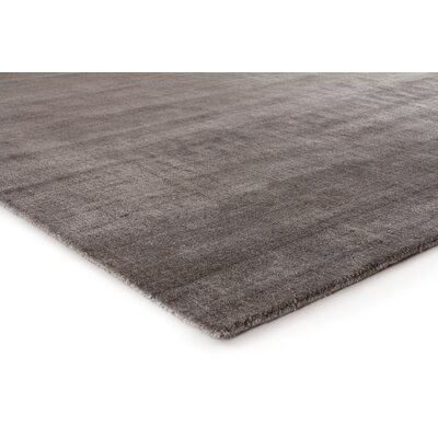 Sanctuary Hand-Woven Silk Brown Area Rug Rug Size: Rectangle 8 x 10