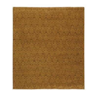 Metropolitan Hand Knotted Wool Beige/Green Area Rug