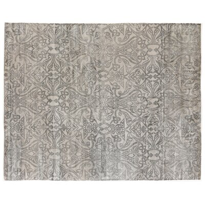 Koda Hand-Woven Gray Area Rug Rug Size: Rectangle 8 x 10