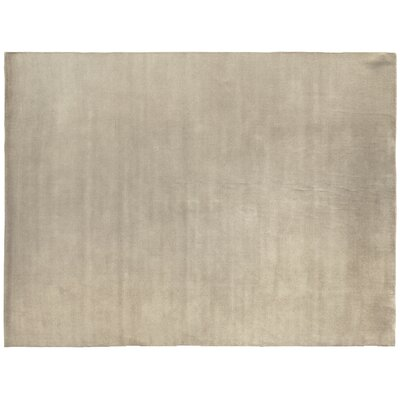 Dove Hand Woven Wool Ivory Area Rug Rug Size: Rectangle 6 x 9