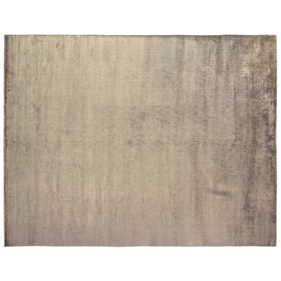 Dove Embossed Hand-Woven Ivory Area Rug