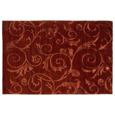 Metropolitan Hand Knotted Wool Beige/Rose Area Rug