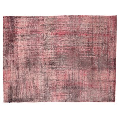 Koda Hand-Woven Pink Area Rug Rug Size: Rectangle 9 x 12