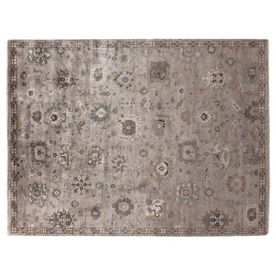 Museum Hand-Knotted Brown Area Rug Rug Size: Rectangle�6 x 9