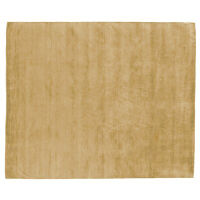 Dove Hand Woven Wool Citron Area Rug Rug Size: Rectangle 14 x 18